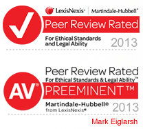 LexisNexis Martindale-Hubbell Badges